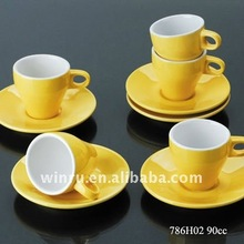 Tested espresso cup saucer set
