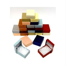 Color Cotton Filled Jewelry Gift Boxes