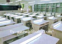 School student lab table/Best design chemistry lab desk/school furniture