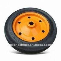 heavy duty solid rubber wheels 14inch