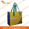 M4 BR016 yellow beach bag made of polyester