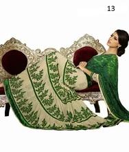 2013 Party Wear Saree,Bridal saree | Clothing Fabric