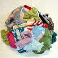 Sin cortar algodón RAGS - limpiaparabrisas de segunda mano ropa