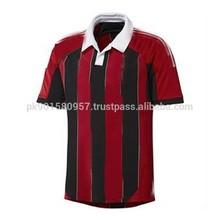 Men latest pique cotton men striped bulk pique cut sew polo shirts