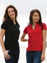Custom design Ladies Polo Shirt