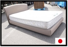 Used and High quality wooden box bed design with multiple functions made in Japan