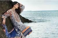 Designer Pakistani Suits in India Lawn Suits Shalwar Kameez