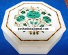 Box Malachite Stone Inlay