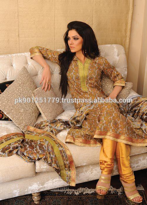 Alibaba.com Pakistani Designer Clothes Gul Ahmed Lawn Suits