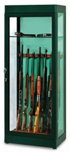 GLASS SECURITY GUN CABINETS