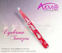 Ever Best Slanted Tips Eyebrow Tweezers for Hair Plucking/ Stainless Steel Tweezers for Hair Plucking