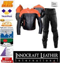 Giacca moto ducati colore rosso/ritiro di moto in pelle di vacchetta giacca moto da corsa estate/inverno/ogni stagione