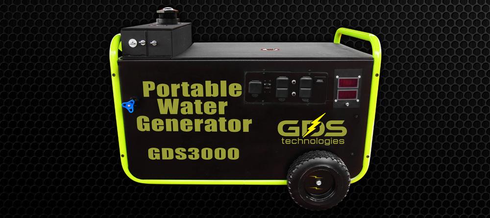 Vodou poháděný přenosný generátor k výrobě obrovské energie konečně představen