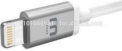 WinnerGear KOOL Certified Cable Lightning Cable iPhone 5 5S 6 Plus iPad Air Apple MFi Braided Nylon Strong Aluminum USB Data 8