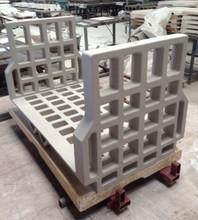 U Cassette for ceramic roof tiles firing