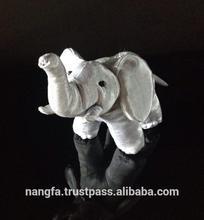 Silk Elephant Plush Animal Cotton Toys