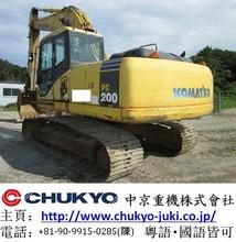 Used Komatsu Crawler Excavator PC200-7 Japan Model