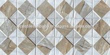 strip granite white & brown tropical wall tiles