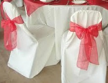 Wholesale Top Quality Cotton Comfortable Wedding Chair Cover