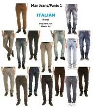 Homem italiano Jeans / calças, Stock # 1,F / Inverno, 'Einstein'