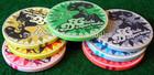 Ceramic Poker Chips Round shape