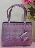 Thailand Traditional Pare-Wha Silk Bag Precious Purple Size S