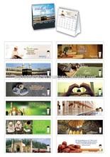 C3723 World of Islam Desktop Calendar 2015 ( promotional gift, corporate gift, premium gift, souvenir )