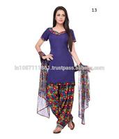Punjabi Dress Material / Salwar Suits Wholesale Price