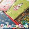 Hologram, foil, glitter processing, brilliant Christmas cards 2014