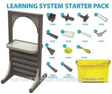 imaginz - 86pc Kids Construction Learning System Starter Pack
