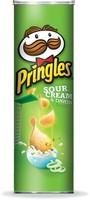Pringles Potato Chips Sour Cream & Onion