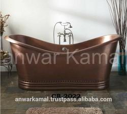 Paige Copper Double Sliper BathTub