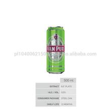 VAN PUR ZERO% nonalcoholic BEER 0,5l steel can - BEST PRICE