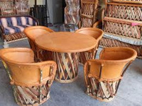 FORNITURE HOME LEATHER HAND CRAFT