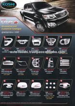 KOSHI ABS Chrome exterior accessories for Toyota Vigo