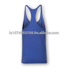Herringbone stringer vest with attractive blue colour