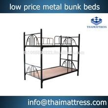 low price metal bunk beds