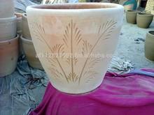 planter pots, flower pots, pottery