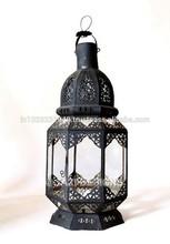 Moroccan Lantern Black Finish Moroccan Style 016