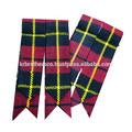 wallace tradicional scottish tartan saiote meias mangueira flashes