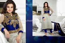 latest fashion Bollywood suits online / Pakistani designer long kurtis 2015 /amisha patel designer salwar kameez