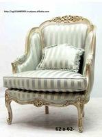 classic living room set, leaf silver finishing