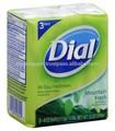 Cadran montagne frais antibactérien déodorant savon bloc 113 G * 3