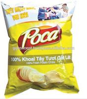 Poca Potato Snack 100% Fresh Natural 100g/Confectionery