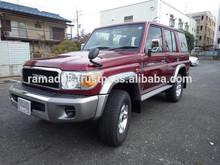 YEAR2014 TOYOTA LANDCRUISER70 BRAND NEW CAR FOR SALE [RHD][JAPAN][STOCK#1025]