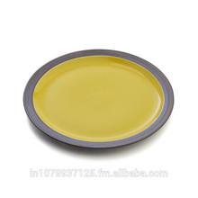 Wholesale High Quality Porcelain Strengthen Elegant Design Ceramic Round Dinner Plate, Dinnerware, Hotel Supplies Weddings