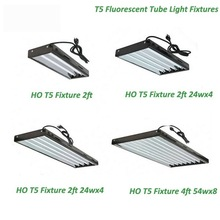 24W HO T5 2FT Fluorescent Lighting Fixtures