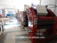 Creusot Loire Super Gazette printing machine