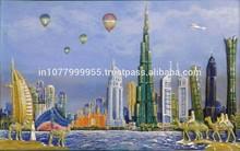 Dubai Skyline Home decor