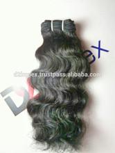Brazilian virgin 24 inch human hair weave extensions